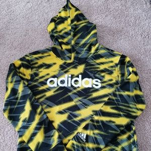Adidas Camo Pullover Hoodie- Boys Large 14/16